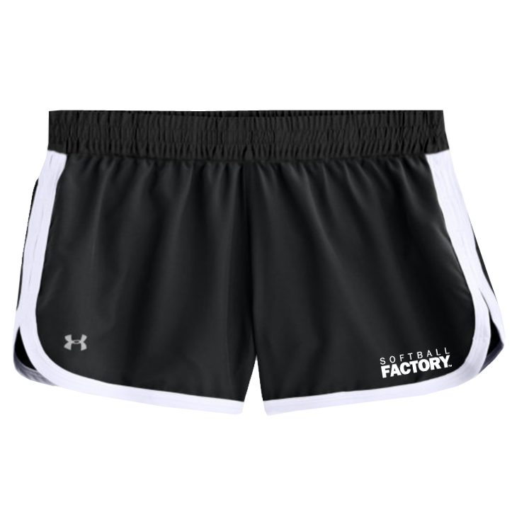 ***DEAL OF THE WEEK***UA Softball Factory Great Escape II Shorts - Black