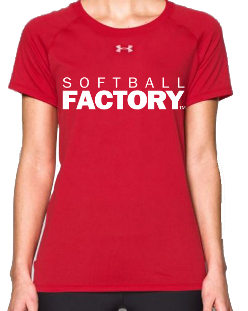 SF Women's Red Locker Tee
